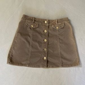 Urban outfitters BDG high-waisted Corduroy skirt